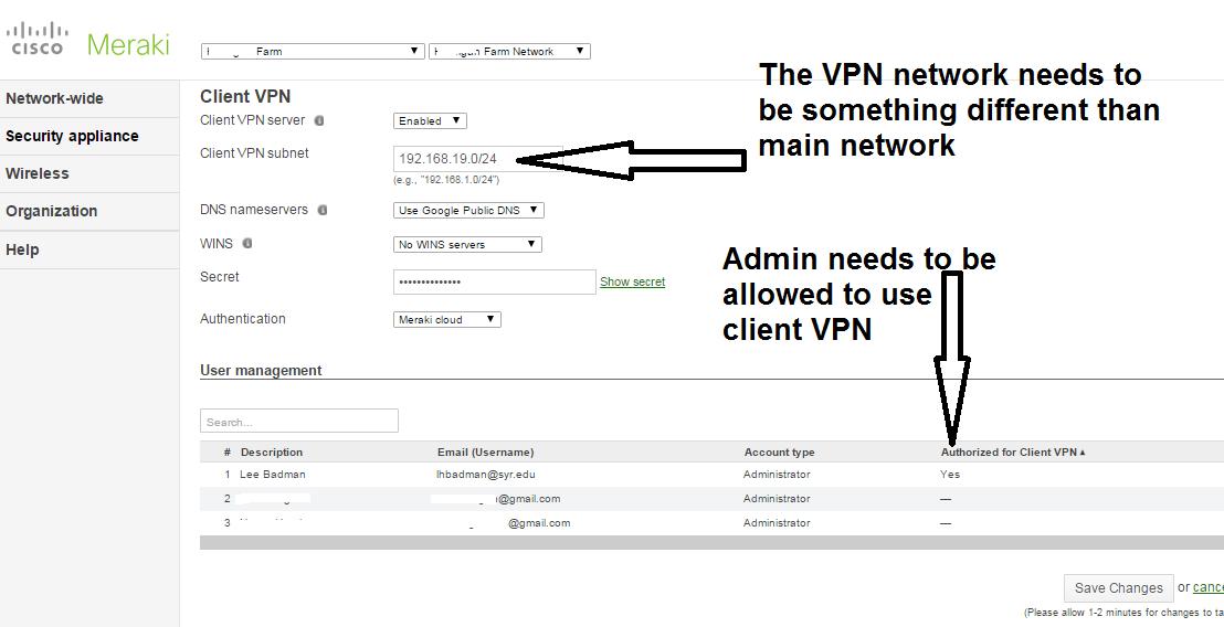 Meraki Vpn Not Working For Mac - bluedesktop's blog