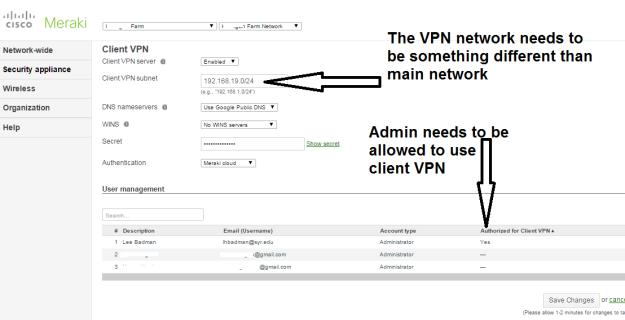 client VPN